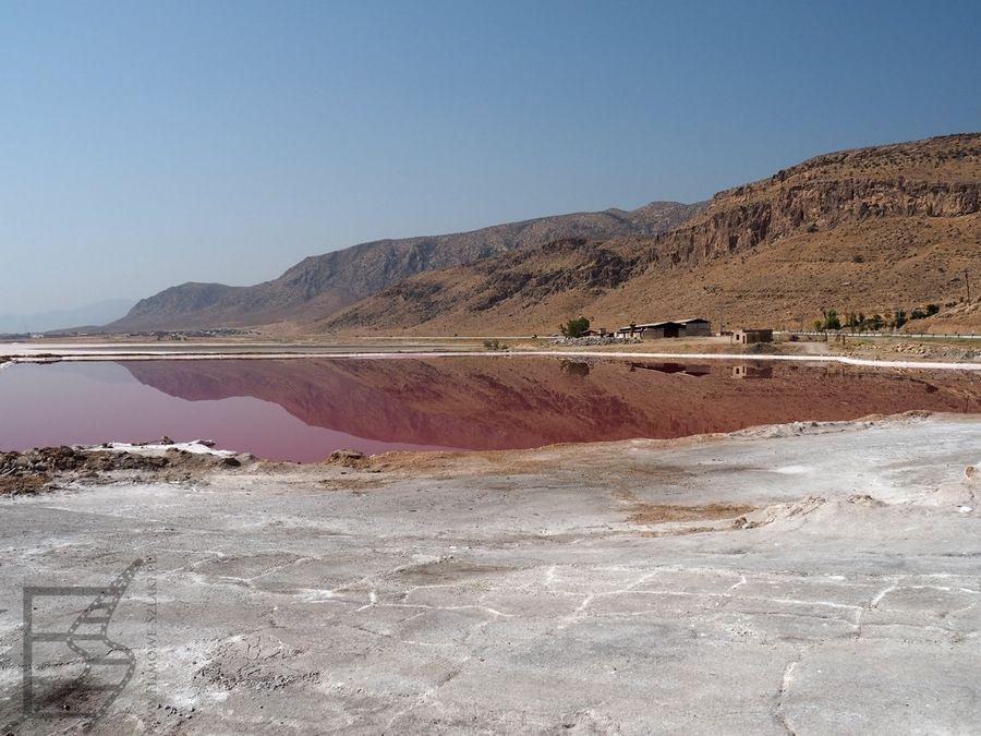 Jezioro Maharlu i sól