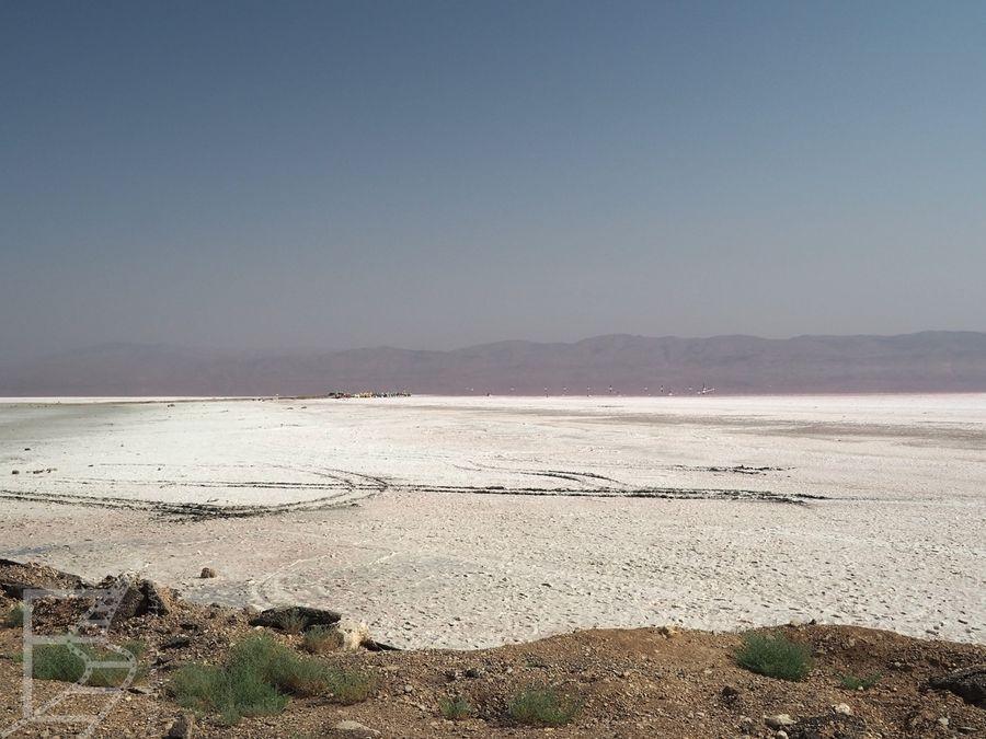 Połacie soli (Maharlu, Iran)