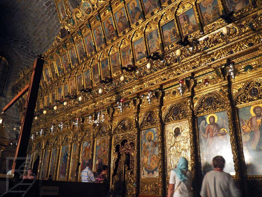 Ikonostas w kościele św. Łazarza