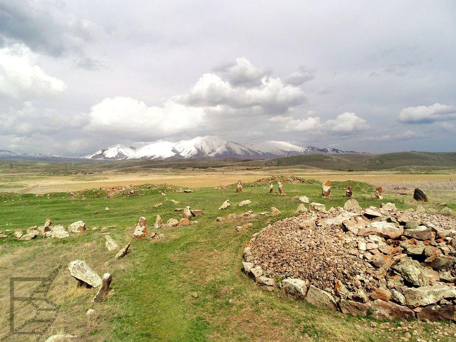 Carahunge (czyli Zorac Karer) z góry
