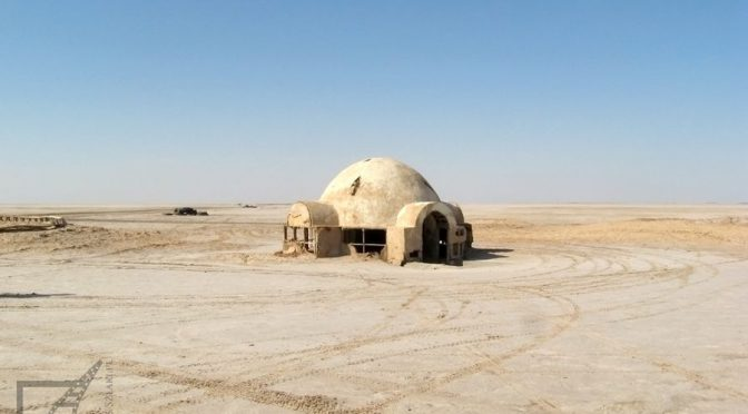 Szatt al-Dżarid (Chott El Jerid), Wielki Szott i domek Luke'a Skywalkera
