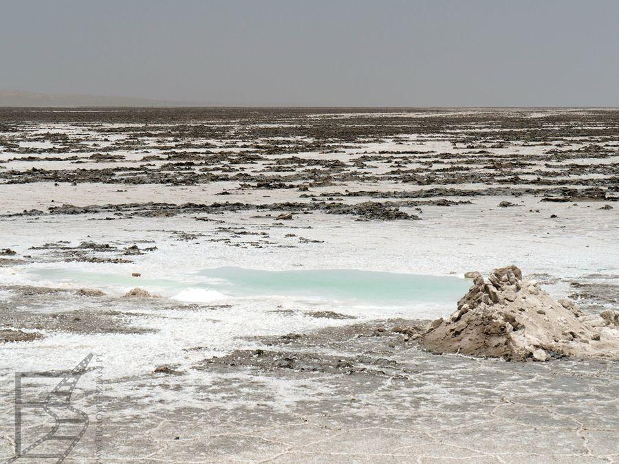Jezioro okresowe Varzaneh, obecnie wyschnięte