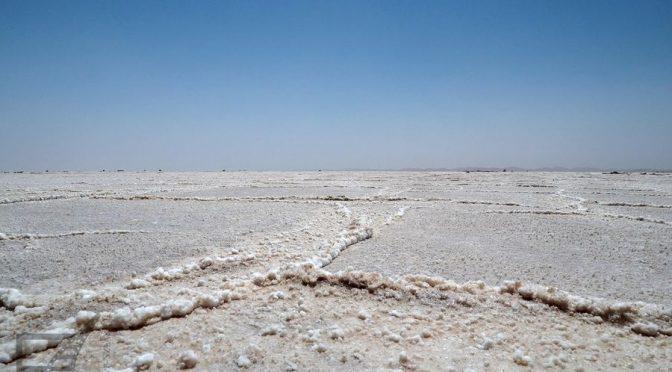 Varzaneh, najładniejsza pustynia Iranu i solnisko