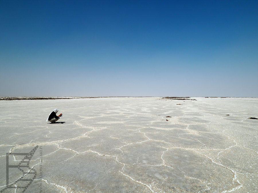 Fascynujące solnisko Varzaneh