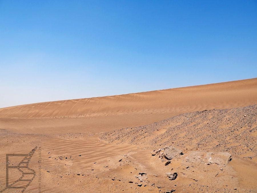 Fragment pustyni piaszczystej