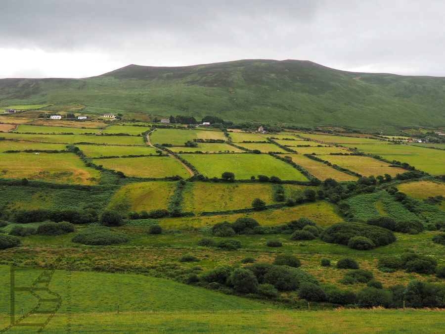 Krajobraz półwyspu Dingle