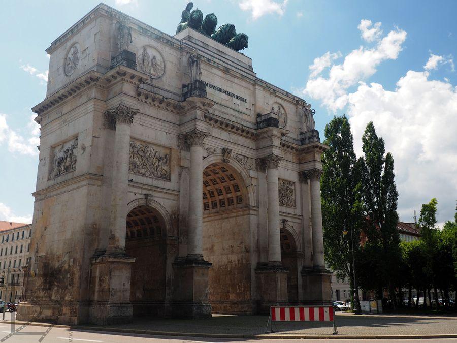 Brama Zwycięstwa w Monachium
