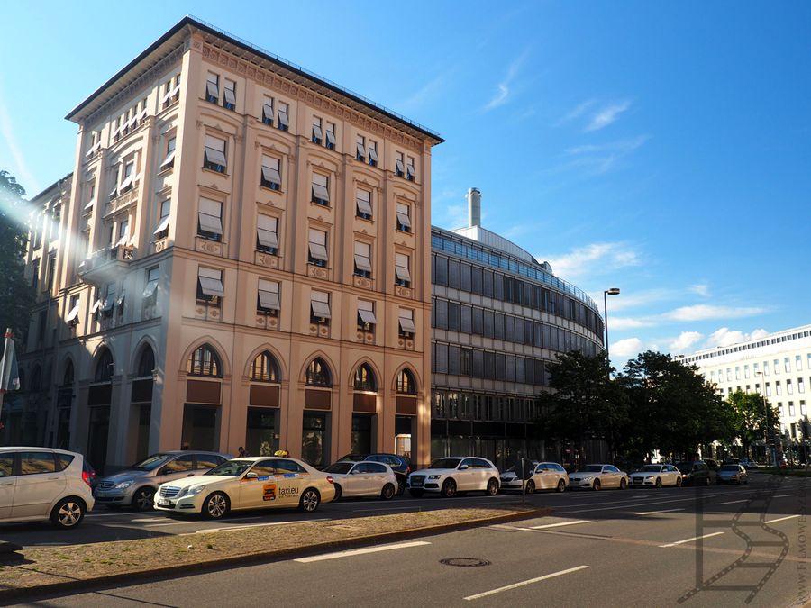 Budynki w centrum Monachium