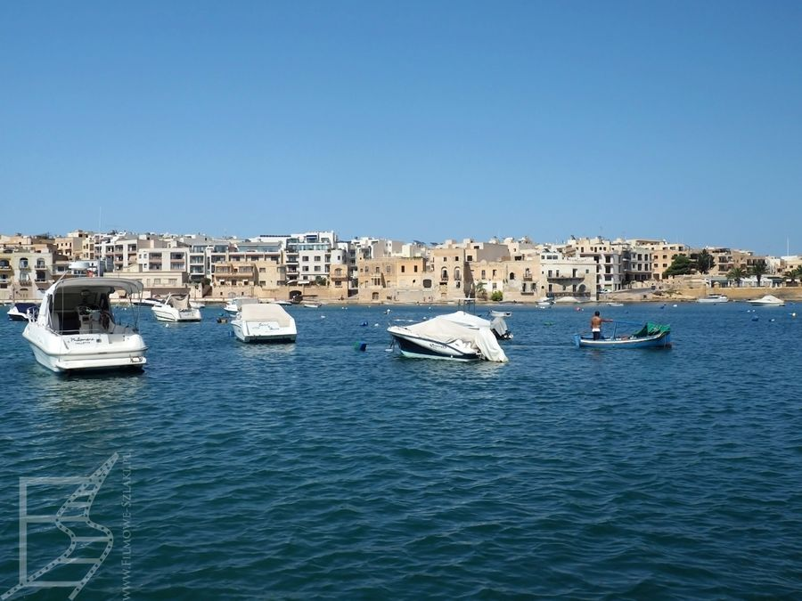 Widok na port w Marsaxlokk