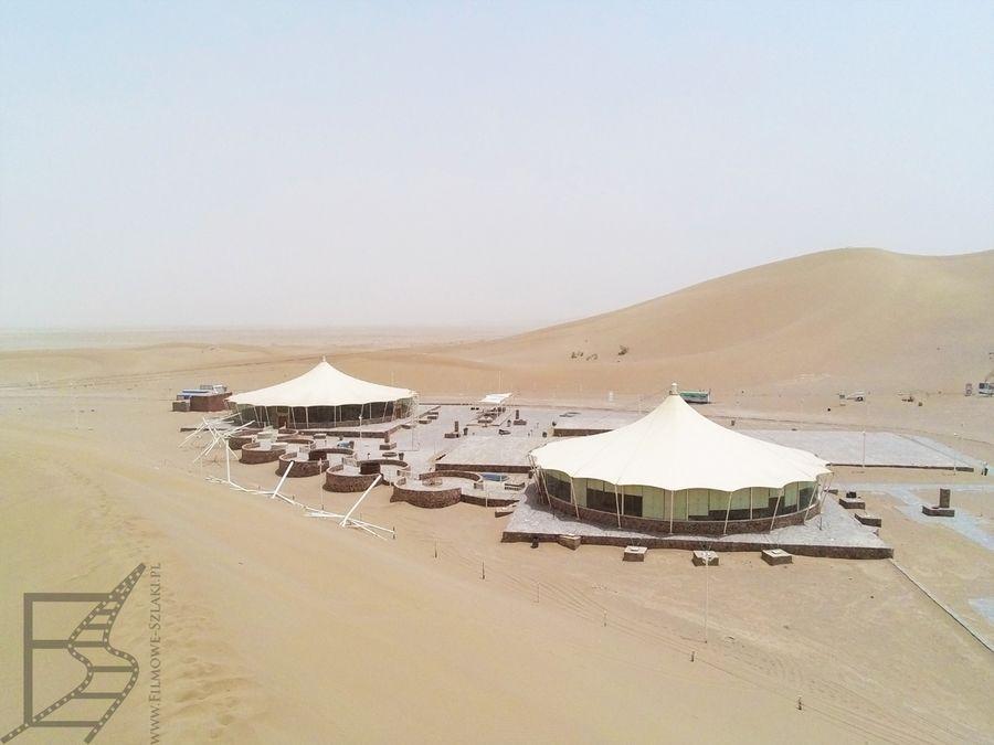 Ośrodek turystyczny na pustyni