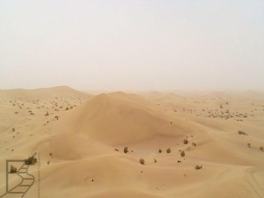 Wydmy na pustyni Varzaneh