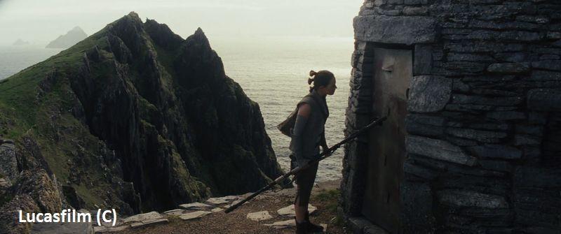 """""""Gwiezdne Wojny: Część VIII: Ostatni Jedi"""", półwysep Dingle dubluje Skellig Michael czyli planetę Ahch-to."""