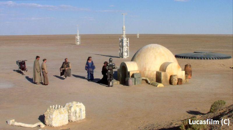 """Domostwo Larsów – """"Gwiezdne Wojny: Cześć II: Atak klonów"""""""
