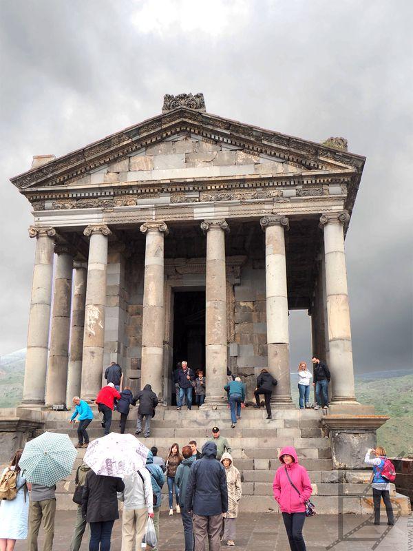 Garni, klasyczna świątynia w Armenii