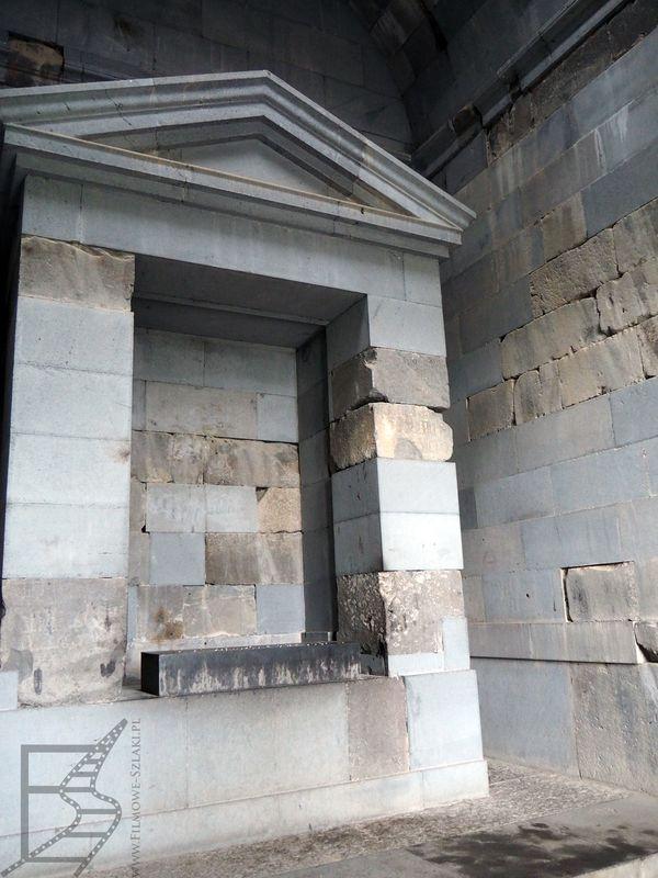 """Wnętrz świątyni także pojawiły się w """"Przygodach Pana Kleksa"""""""