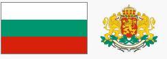 Godło i flaga Bułgarii (za wikipedia.org)