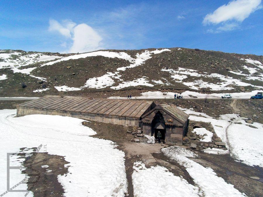 Karawanseraj Orbeliana (Przełęcz Sulema, Armenia)