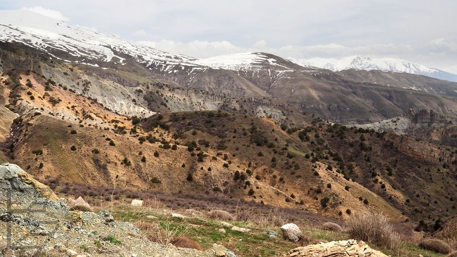 Widoki na przełęczy Sulema