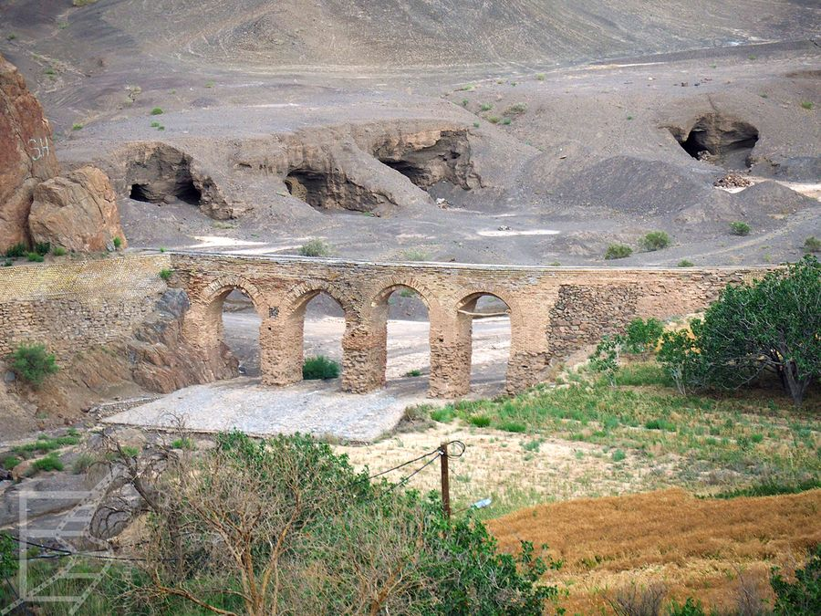 Stary most w Kharanaq