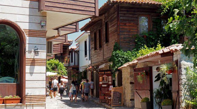 Nesebyr, bizantyjskie cerkwie i bułgarska riwiera morza Czarnego