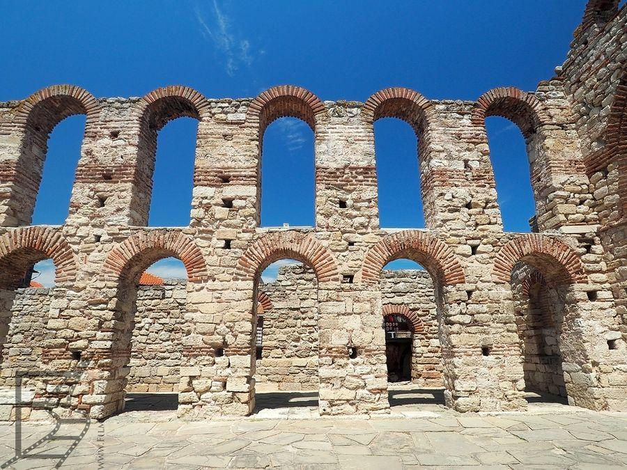 Ruiny cerkwi św. Zofii (Nesebyr)
