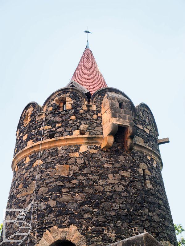 Wieża zamku Grodziec