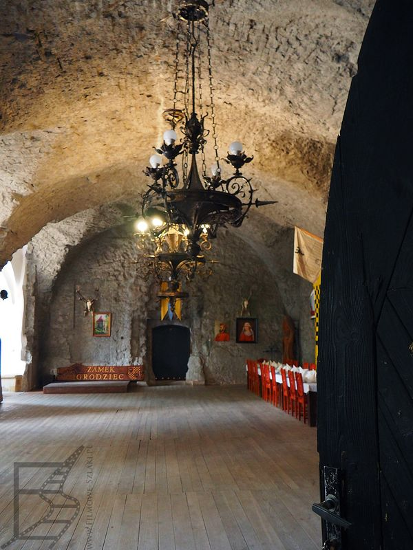 Komnaty zamku Grodziec