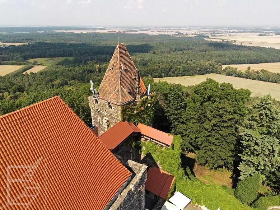 Dach zamku