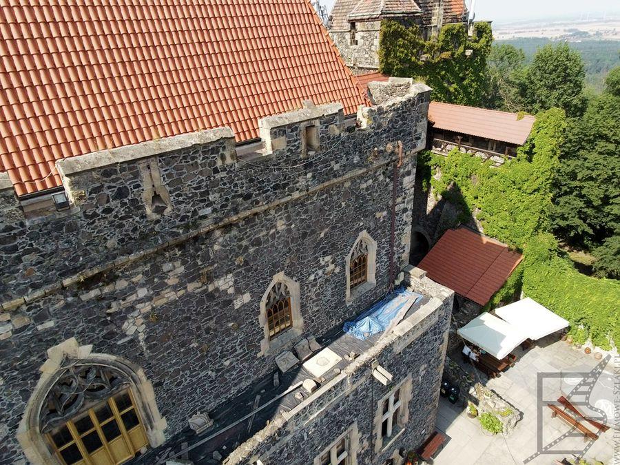 Zamek Grodziec z góry