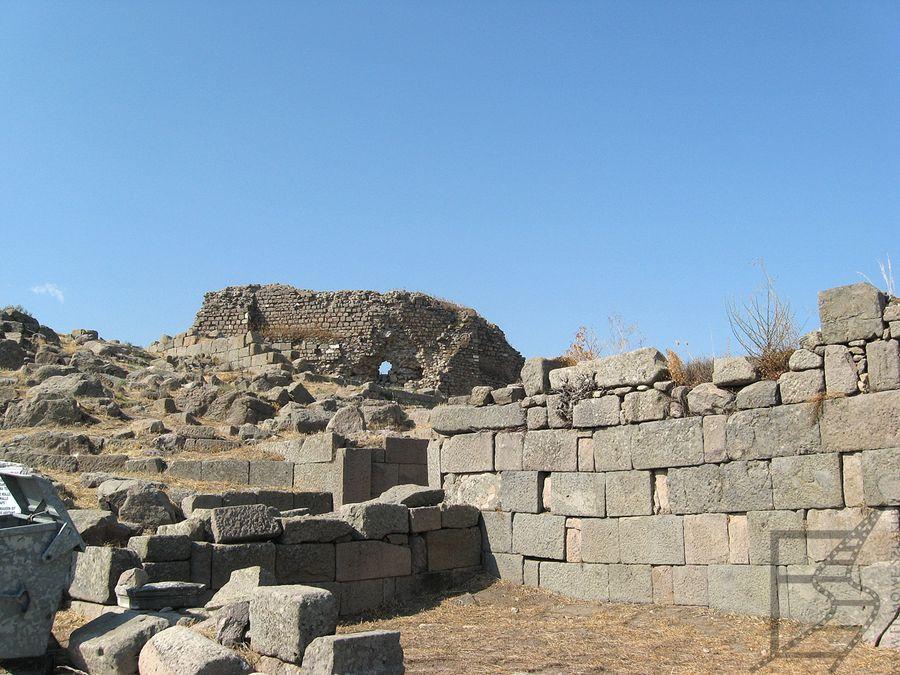 Pergamon, ruiny