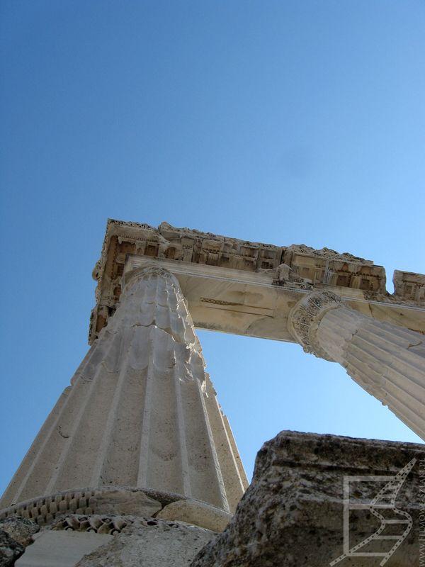 Kolumny w Pergamonie