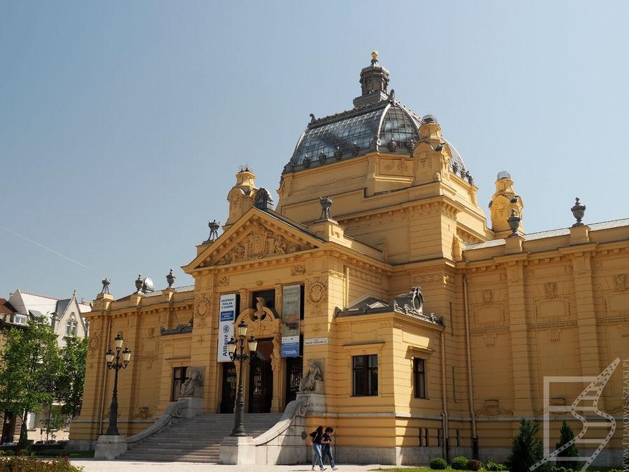Umjetnički paviljon, czyli galeria sztuki w Zagrzebiu