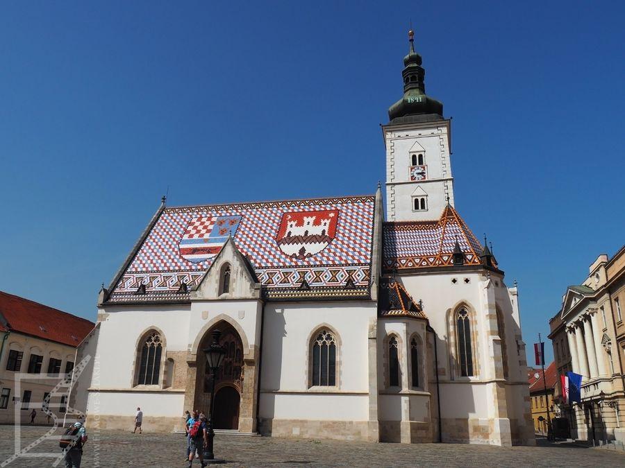 Charakterystyczny kościół św. Marka to ikona Zagrzebia