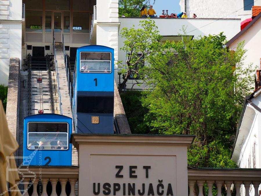 Najkrótsza kolejka w Europie znajduje się w Zagrzebiu
