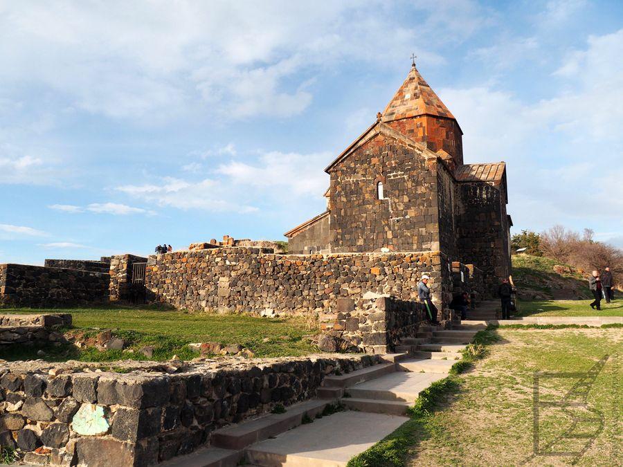 Kościół św. Apostołów, klasztor Sewanawank