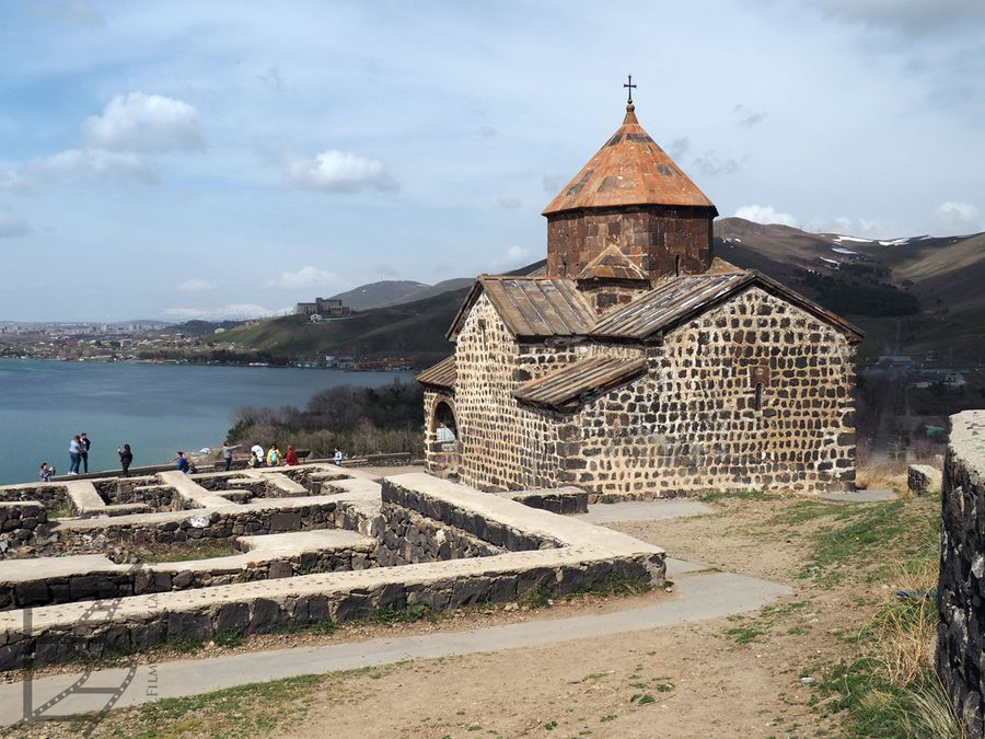 Sewanawank i pozostałości dawnej zabudowy