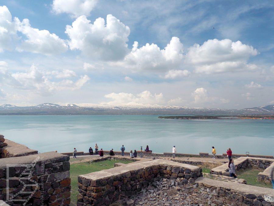 Jezioro Sewan widziane z Sewanawank