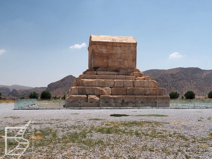 Pasargady, grobowiec Cyrusa