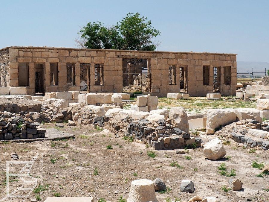 Pozostałości dawnego karawanseraju