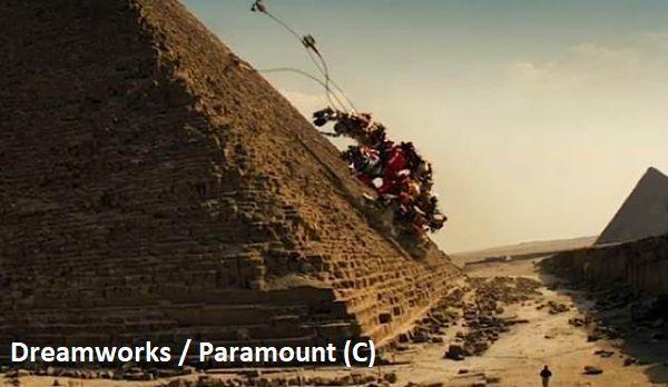 """Piramidy w """"Transformers: Zemsta upadłych"""""""