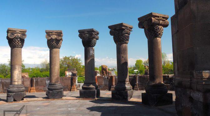 Zwartnoc, armeńska katedra Niebiańskich aniołów