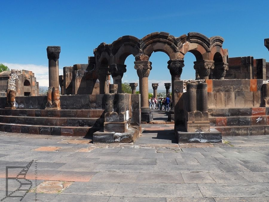 Ruiny katedry Niebiańskich Aniołów
