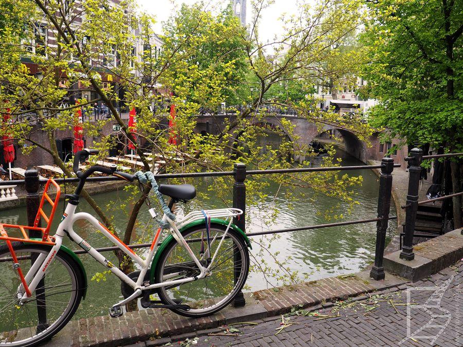 Ze względu na kanały (i rowery), Utrecht bywa nazywany małym Amsterdamem