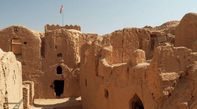 Saryazd, forteca z suszonej cegły