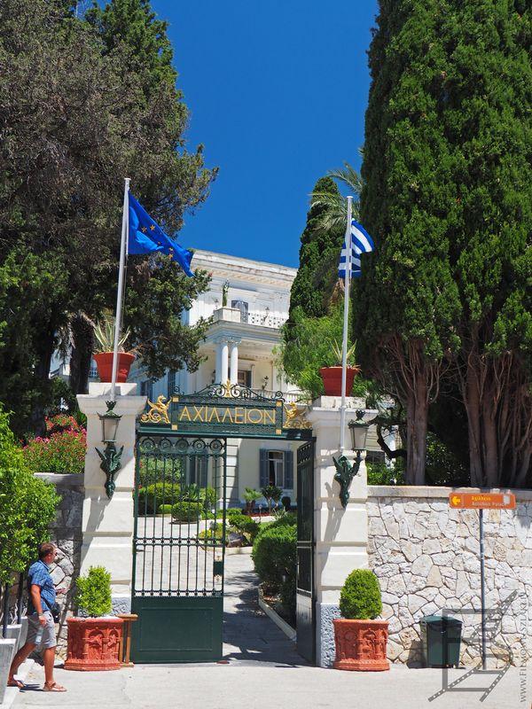 Pałac Achilleion, Korfu