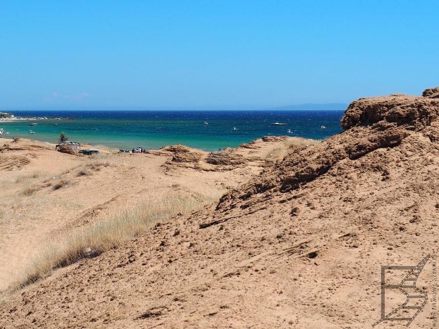 Plaża Issos, czyli James Bond na Korfu