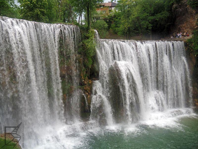 Wodospad na rzece Pliva