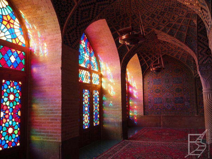Różowy meczet, Sziraz