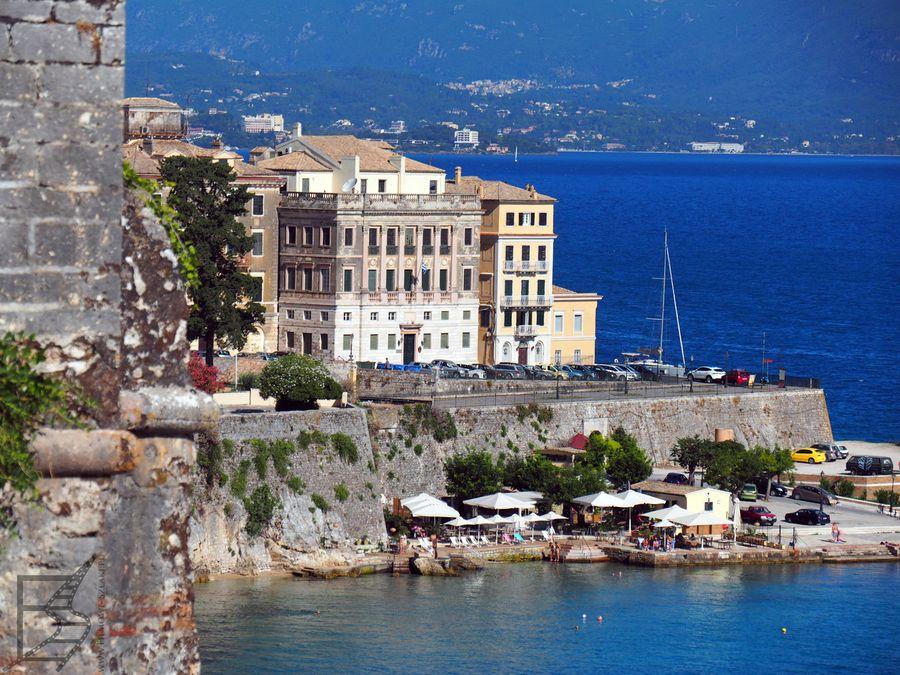 Port w Kerkyrze (Korfu)