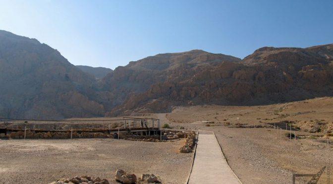 Kumran (Qumran), zagadkowe zwoje, ruiny i jaskinie